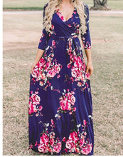 Load image into Gallery viewer, May Flower Maxi Dress