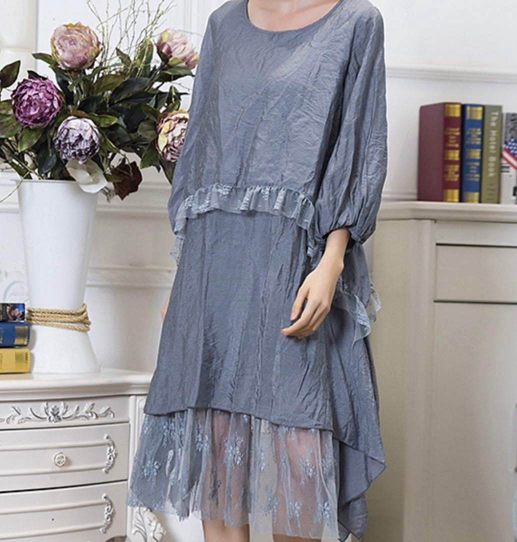 Sassy B's Boho Tiered Lace Dress/Tunic