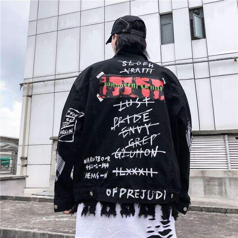7Sins denim jacket