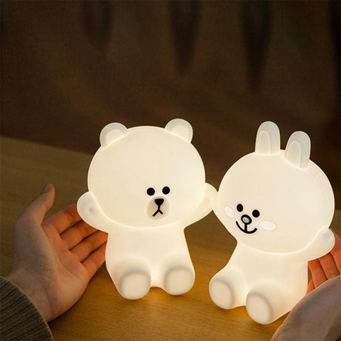 Cute Baby Bear Night Light *