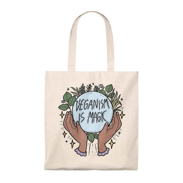 Veganism Is Magic Tote Bag