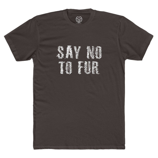 Say No To Fur Men's T-shirt