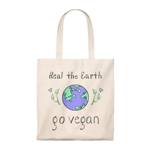 Heal The Earth Tote Bag