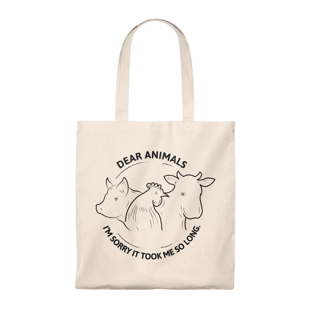 Dear Animals Tote Bag
