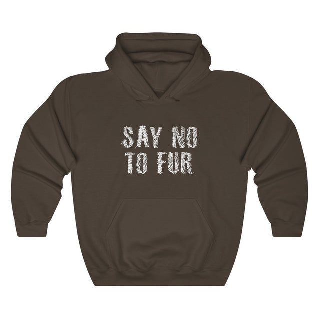 Say No To Fur Unisex Hoodie