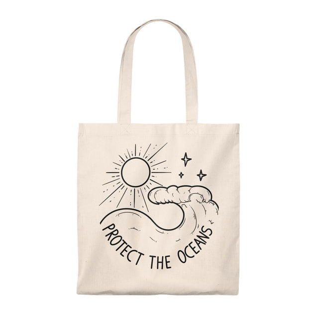 Protect The Oceans Tote Bag
