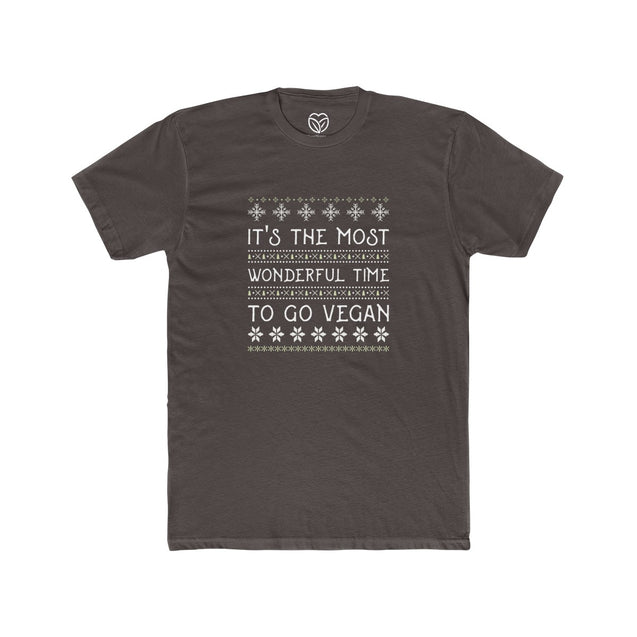 It's The Most Wonderful Time To Go Vegan Men's T-shirt