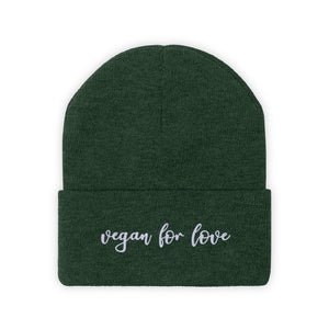 Vegan For Love Knit Beanie