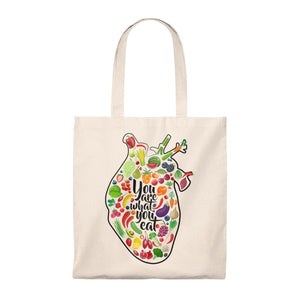 You Are What You Eat Tote Bag
