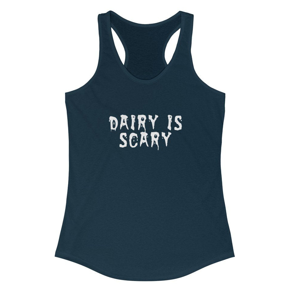 Dairy Is Scary Women's Tank Top