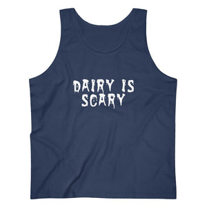 Dairy Is Scary Men's Tank Top