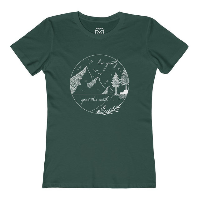 Live Gently Upon This Earth Women's T-Shirt
