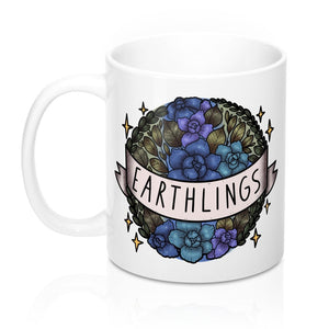 Earthlings White Mug