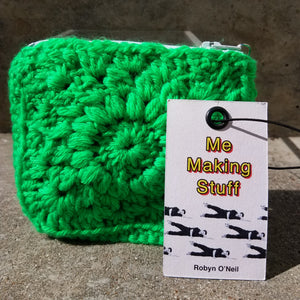 Robyn O'Neil Crocheted Zip Wallet