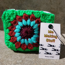 Load image into Gallery viewer, Robyn O'Neil Crocheted Zip Wallet
