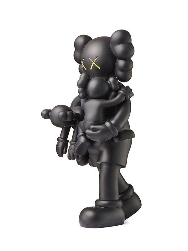 KAWS CLEAN SLATE BLACK
