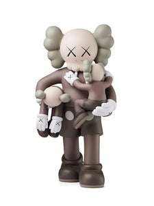 KAWS CLEAN SLATE BROWN