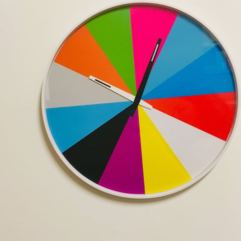 Colorwheel Clock