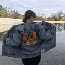 Load image into Gallery viewer, Diamond Supply x Keith Haring Unity Denim Jacket