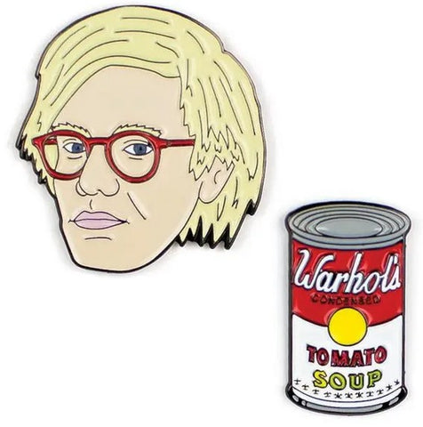 Andy Warhol & Soup Pins