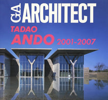 Load image into Gallery viewer, Tadao Ando: 2001 - 2007 (original drawing with signature included)