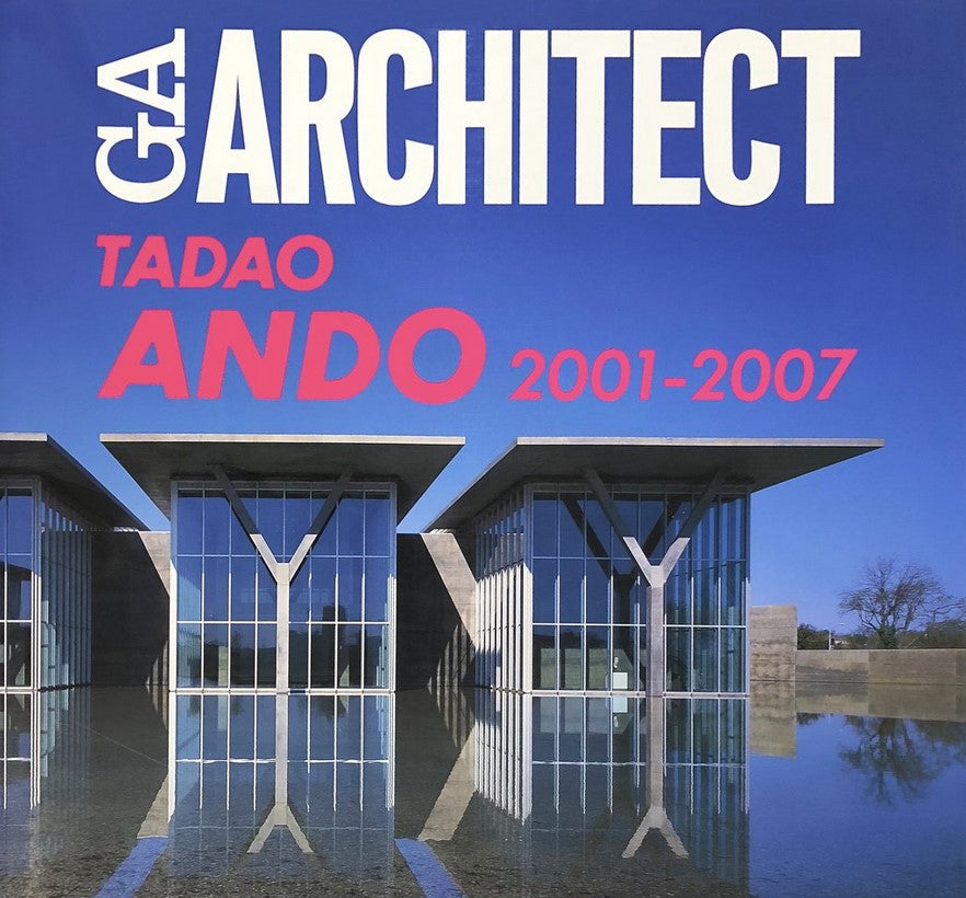 Tadao Ando: 2001 - 2007 (original drawing with signature included)