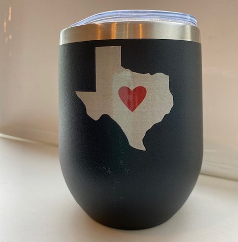 Art in Fort Worth insulated cup