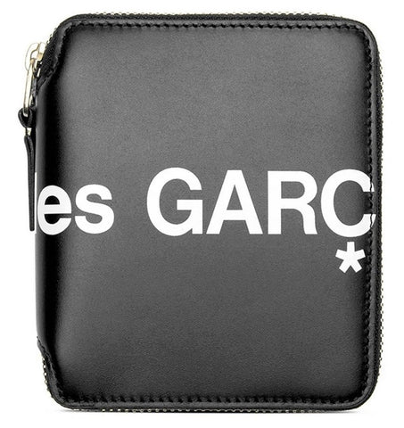 Comme des Garçons Huge Logo Zip Around Wallets- small