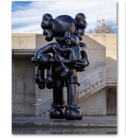 KAWS: CLEAN SLATE 11x14 MINI POSTER
