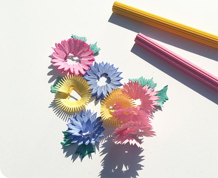 Flower Colored Pencils