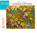 "1000 piece puzzle- Billy Hassell ""Caprock Country"""