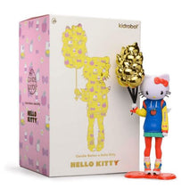 "Load image into Gallery viewer, Hello Kitty 9"" Art Figure by Candie Bolton - Nostalgic Edition - Kidrobot x Sanrio"