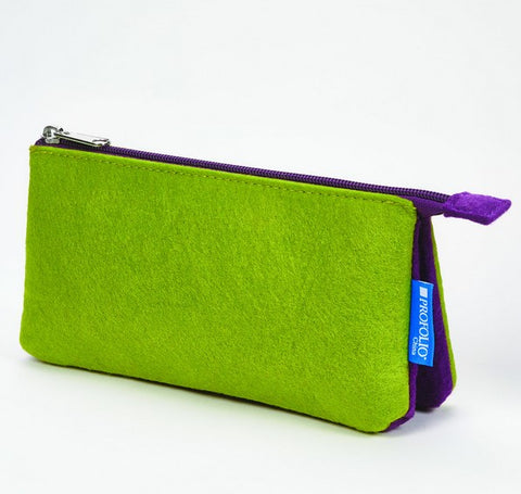 Itoya Profolio Midtown Pouch in Green/Purple
