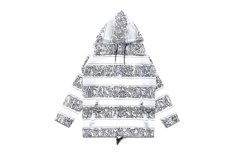 Diamond x Haring Stripe Rain Coat