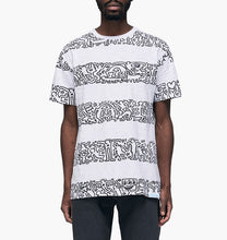 Load image into Gallery viewer, Diamond x Haring Stripes Tee