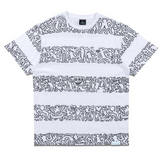 Diamond x Haring Stripes Tee