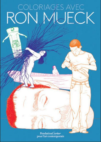 Ron Mueck coloring book