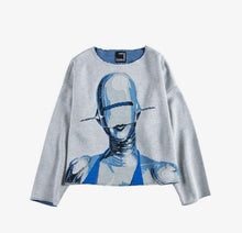 Load image into Gallery viewer, Sexy Robot sweater from Knit Gang Council + Medicom
