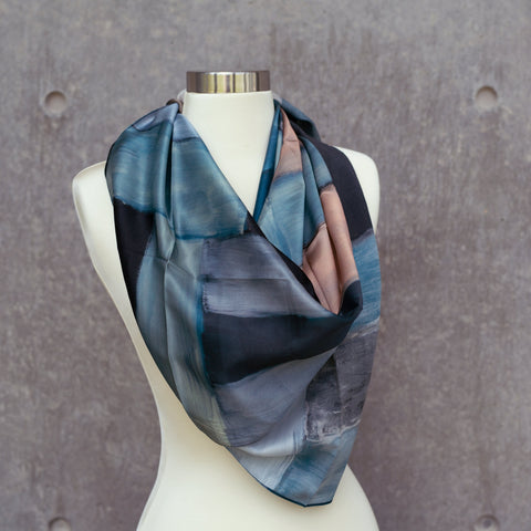 Sean Scully silk scarf