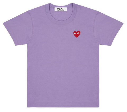 CDG PLAY - Solid Tee (WOMENS)
