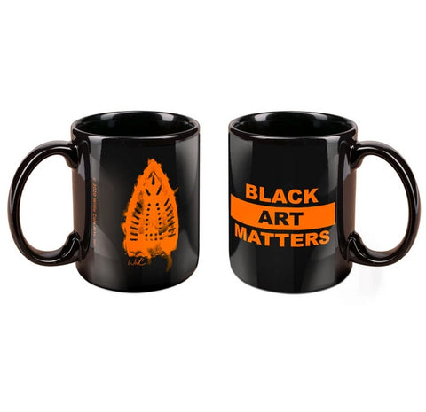 Black Art Matters Mug by Willie Cole