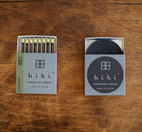 Hibi Matches - Box of 8 Incense Matches