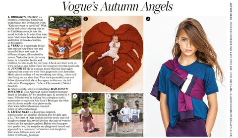 Vogue's Autumn Angels Featured in Vogue Magazine Black Owned Business