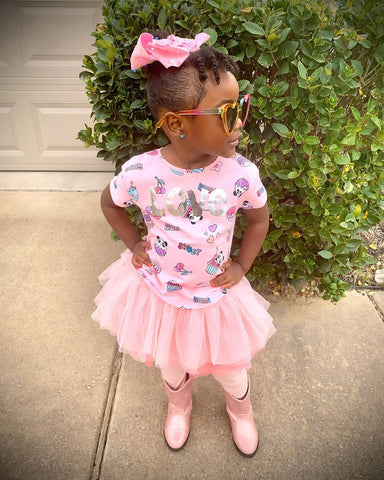 Tutu Leggings | Pink | Instagram Photo Toddler Instagram Kaley