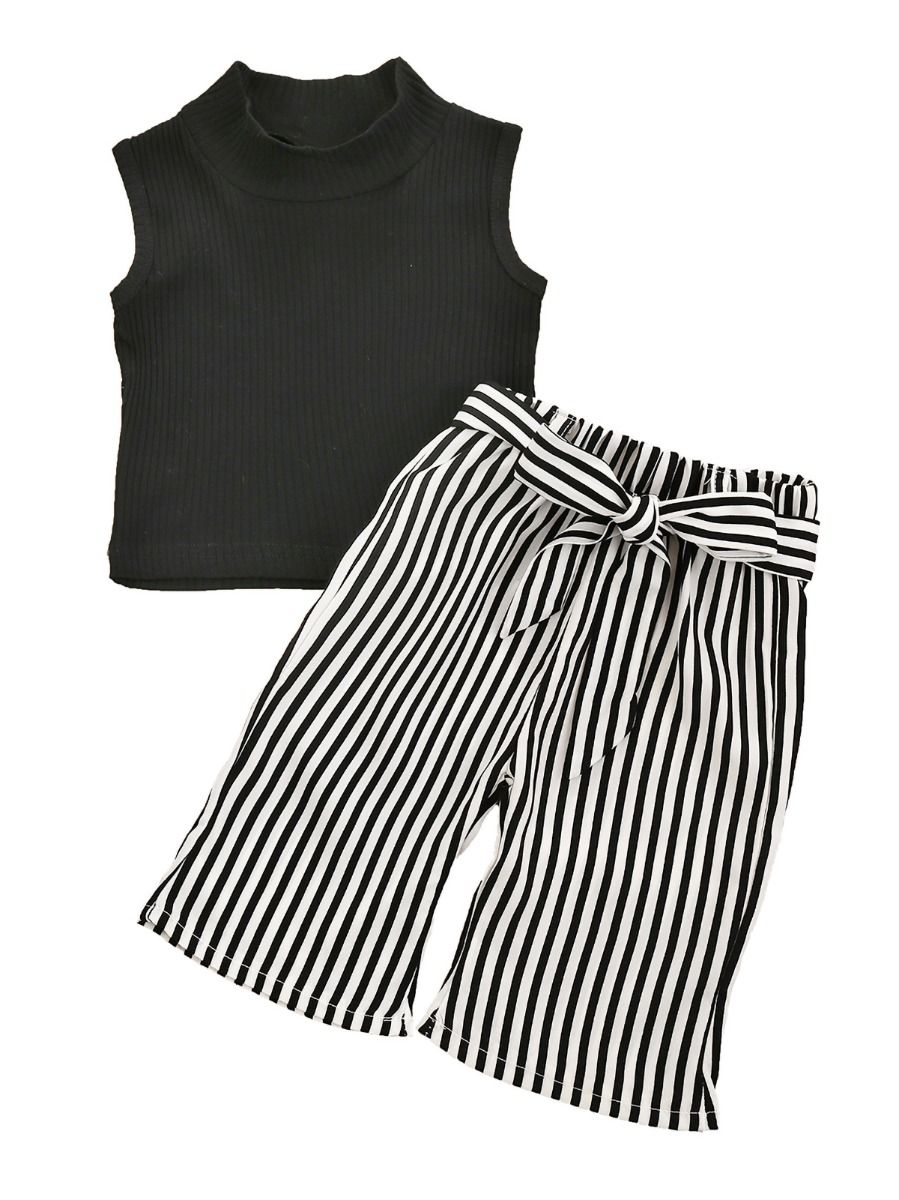 Stripe Pants Set