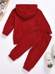 """LITTLE BOSS"" Hoodie Set 