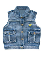 Star Denim Vest
