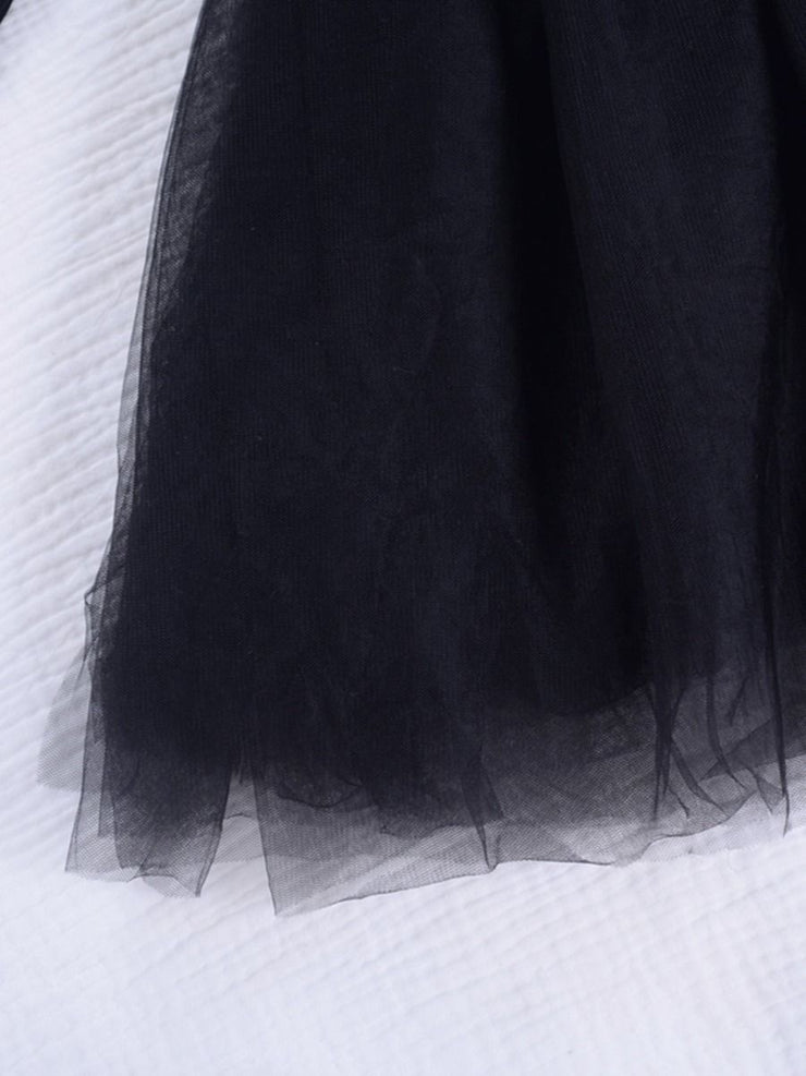 Off Shoulder Tulle Dress