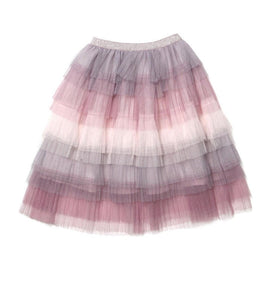 Layered Chiffon Skirt - Rah Love's Boutique- Affordable Trendy Toddler Clothing & Accessories