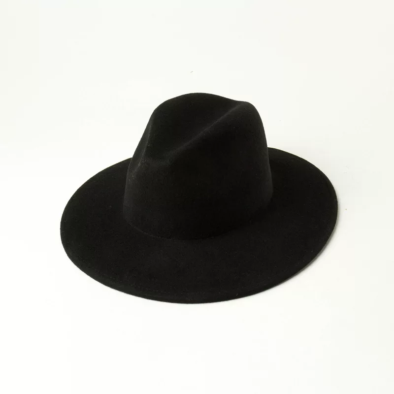 Kid Wide Brim Fedora| BLACK